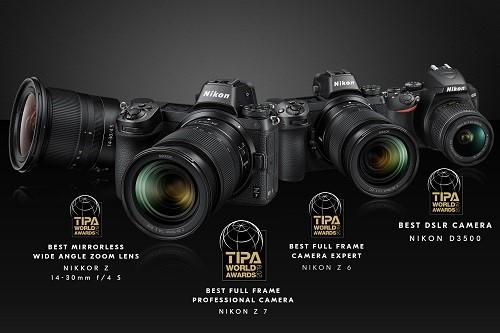 حصدت منتجات نيكون، من بينها أحدث كاميرات سلسلة Z عديمة المرآة، على ...